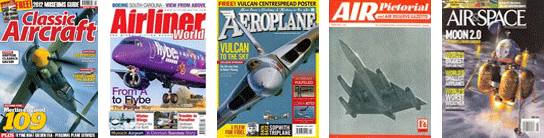 Every type of aviation & aircraft magazine!