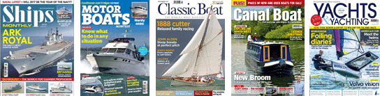 Boating & Watercraft magazines of every type!