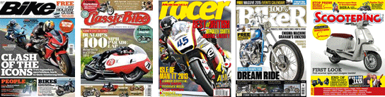 Motorcycling & Biking magazines of every type!