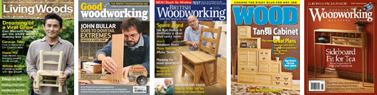 Woodworking magazines of every type!